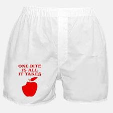 OneBiteApple Boxer Shorts