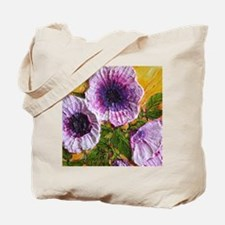 purple-morning-glory-painting Tote Bag