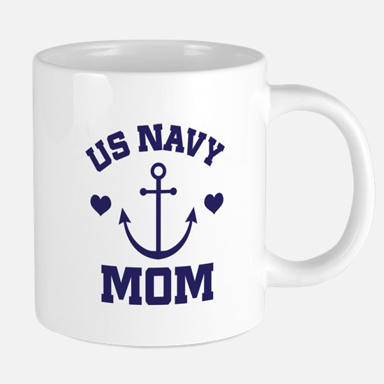 US Navy Mom gift Mugs