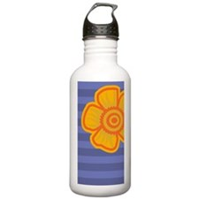 incredibleYellowFlower Water Bottle