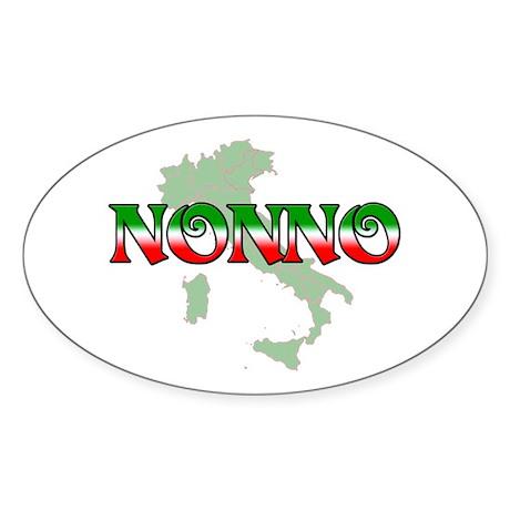 Nonno Oval Sticker