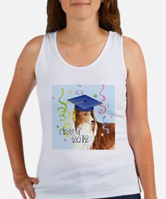 sheltie grad-tile Women's Tank Top