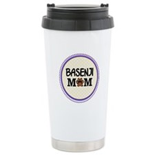 Basenji Dog Mom Travel Mug