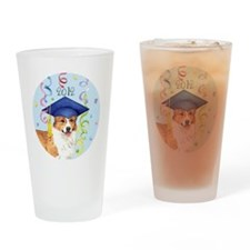 pembroke grad-button Drinking Glass