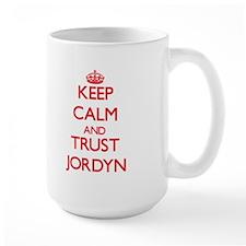 Keep Calm and TRUST Jordyn Mugs