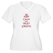Keep Calm and TRUST Jordyn Plus Size T-Shirt