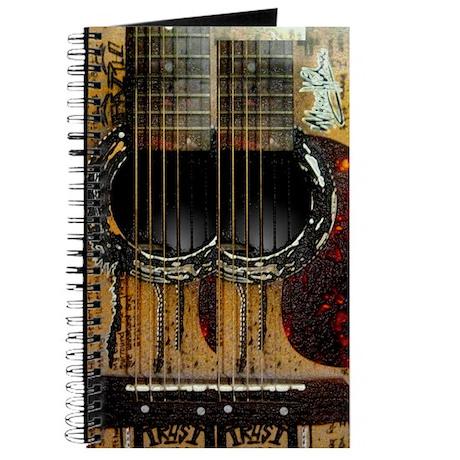 Strike A Chord Flip Flops Journal