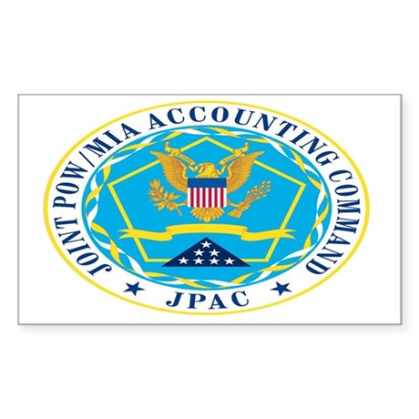 JPAC Logo laptop Sticker (Rectangle)