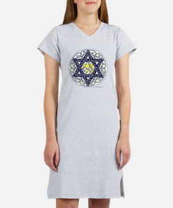 Celtic Art Star of David Women's Nightshirt