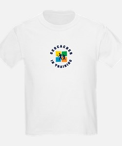Geocacher in Training Kids T-Shirt