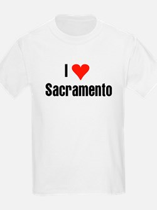 I Love Sacramento Kids T-Shirt