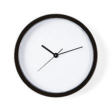 OrgasmDonor-Black Wall Clock