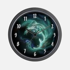 Luminous Galaxy Wall Clock