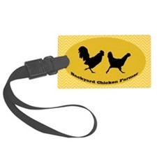 sticker-chick-2 Luggage Tag