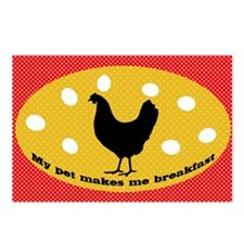 sticker-chick-1 Postcards (Package of 8)