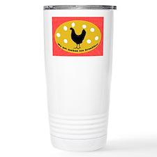 sticker-chick-1 Ceramic Travel Mug