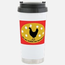 sticker-chick-1 Stainless Steel Travel Mug
