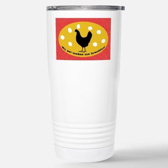 sticker-chick-1 Stainless Steel Travel Mug
