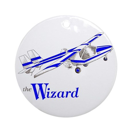 The WIZARD Ornament (Round)