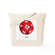 Cute Dragon and dice Tote Bag
