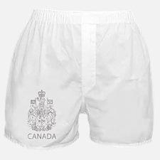 VintageCanadaCoatBk.gif Boxer Shorts