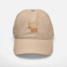 I Love My SFC Baseball Baseball Cap