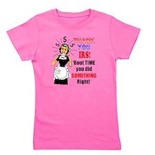 tax-refund-humor Girl's Tee