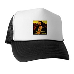 Bring Our Troops Home Mona Li Trucker Hat