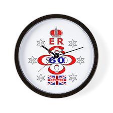 Diamond Jubilee ER 60 years Wall Clock