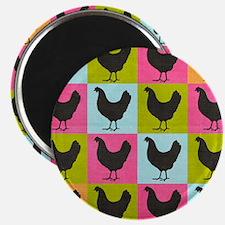 poster-chickenpopart Magnet