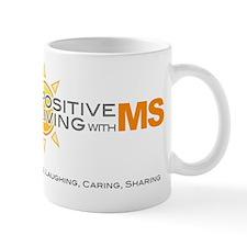6x6 Positive Living Mug