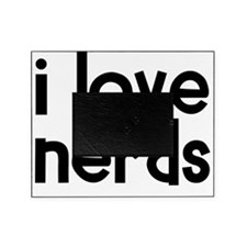 i_love_nerds Picture Frame