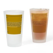 jeremiah 29 Drinking Glass