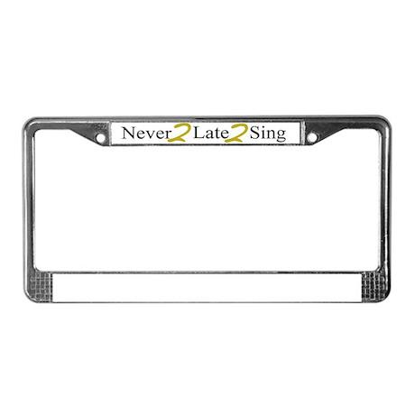 N2L2S copy 2 License Plate Frame
