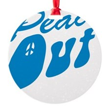 peace_out_ltbl_10x10 Ornament