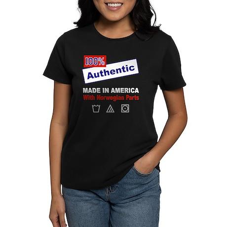 Made in America with... Women's Dark T-Shirt