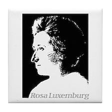 Rosa Luxemburg Tile Coaster