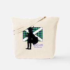 Scotland Piper Flag 2 Tote Bag