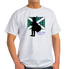 Scotland Piper Flag 2 T-Shirt