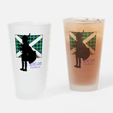 Scotland Piper Flag 2 Drinking Glass