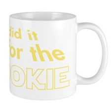 i did it all for the wookie Small Mug