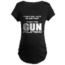 GUN HOLSTERS white T-Shirt