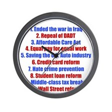obamareasonswh Wall Clock