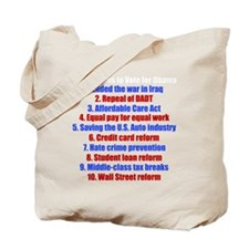 obamareasonswh Tote Bag