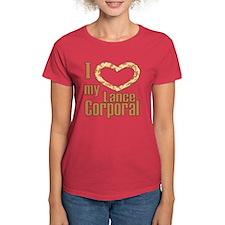 I Love My Lance Corporal Tee