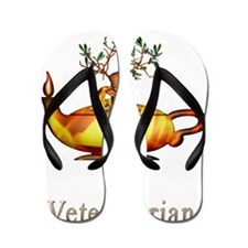 Future Veterinarian Flip Flops