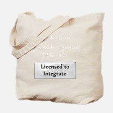 licensed-to-integrate-6-whiteLetters copy Tote Bag