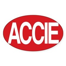 Accie for white shirt Decal