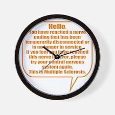 8x8 Hello Wall Clock