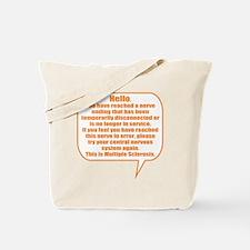 12x12 Hello Tote Bag